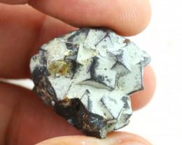 62 ct Damage free Garnet Cluster with mine clay CH 952