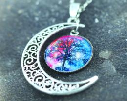 Tree Life Bracelet & Pendant Set  Ch 976