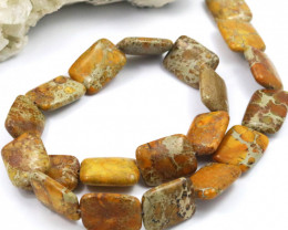 240 Cts natural  agate strand  Ch 980