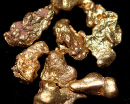 0.36 Grams - ONE NUGGET ONLY - Australian Kalgoorlie  Gold Nugget CCC 1331