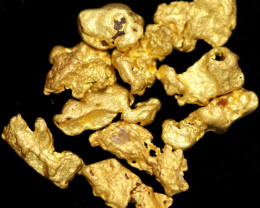 0.26 Grams - ONE NUGGET ONLY - Australian Kalgoorlie  Gold Nugget CCC 1332
