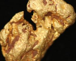 0.67 Grams -  Australian Kalgoorlie  Gold Nugget LGN 1814