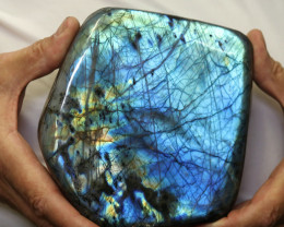2.82 Kilos Large Unique  Labradorite from Madagascar  code LAB2