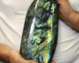 4.81 Kilos Large Unique  Labradorite from Madagascar  code LAB3