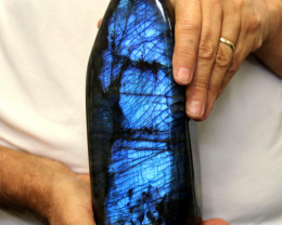 2.73 Kilos Large Unique  Labradorite from Madagascar  code LAB4