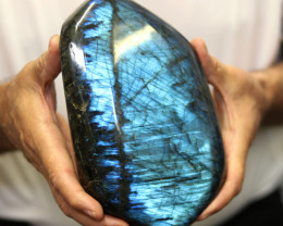 3.35 Kilos Large Unique  Labradorite from Madagascar  code LAB5