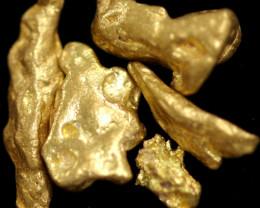 1.12 Grams -  Australian Kalgoorlie  Gold Nuggets Parcel LGN 1827