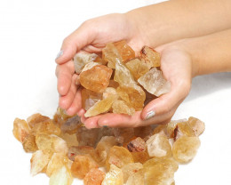 1kg Citrine Small Rough Parcel