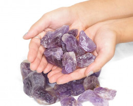 1kg Amethyst Small Rough Parcel