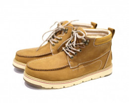 UGG CIELE MEN'S COW LEATHER WATER PROOF LACE UP BOOTS#CHEST
