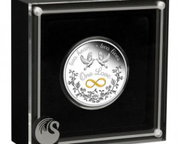 One Love 2021 1oz 99.99 % Silver Proof Coin