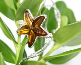 Natural Baltic Amber Sterling Silver Bracelet code GI 945