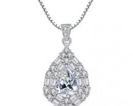 Silver 925 Quailty Classy Fashion Pendant  code CCC 1579