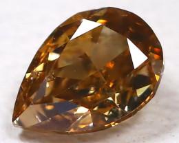 Champagne Diamond 0.23Ct Natural Genuine Fancy Diamond CH1002