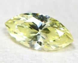 Yellow Diamond 0.12Ct Natural Untreated Genuine Fancy Diamond CH1003