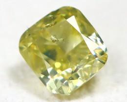 Yellow Diamond 0.17Ct Natural Genuine Fancy Diamond CH1007