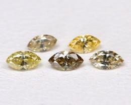 Diamond 0.21Ct Natural Genuine Fancy Color Diamond Lot CH1008