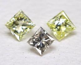 Diamond 0.12Ct Natural Genuine Fancy Color Diamond Lot CH1016
