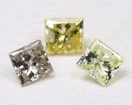 Diamond 0.10Ct Natural Genuine Fancy Color Diamond Lot CH1021