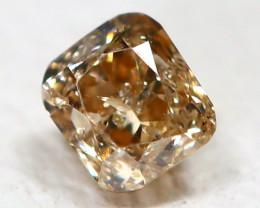 Orange Diamond 0.11Ct Natural Genuine Fancy Diamond CH1023