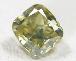 Green Diamond 0.27Ct Natural Untreated Genuine Fancy Diamond CH1032
