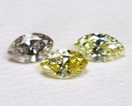 Diamond 0.20Ct Natural Genuine Fancy Color Diamond Lot CH1034