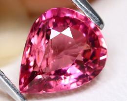 Pink Tourmaline 1.19Ct Pear Cut Natural Vivid Pink Tourmaline CH1046