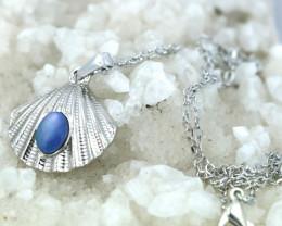 Australian Sea Collection Doublet Opal Shell Pendant CCC 1711