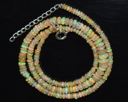 33 Cts Honey colour Ethiopian Necklace   code CCC 1778