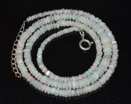33Cts Bright  colour Ethiopian Necklace   code CCC 1779