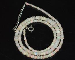34 Cts Honey colour Ethiopian Necklace   code CCC 1780