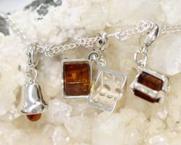 Natural Baltic Amber Jewellery Set code GI 1444