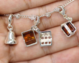 Natural Baltic Amber Jewellery Set code GI 1445