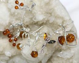 Natural Baltic Amber Jewellery Set code GI 1755