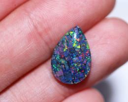 Tear drop  Shape  Opal Mosaic Triplet   CCC 1866