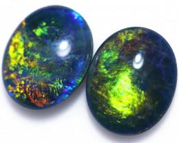 Two Gem   Opal  Triplets   CCC 1953