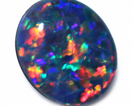 3.4 cts Gem   Opal  Triplet 12 x10 mm   CCC 1961