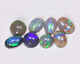 2.12 Cts Lightning Ridge Black & Semi black Opals CCC 2169