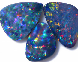5.65 Cts parcel 3 pcs Opal Doublet  CCC 2550