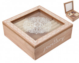 Boho Jewellery Box with draw code C-BOHOJEWB