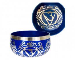 Tibetan Singing Bowl 13cm Purple code C-BOWLS5P