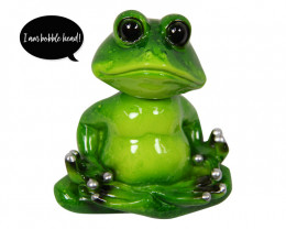 Four Cute Green Frogs ,moving heads bag code C-FROGBOH