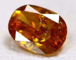 Orange Diamond 0.10Ct Natural Untreated Genuine Fancy Diamond CCC 2299