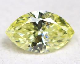 Yellow Diamond 0.16Ct Natural Untreated Genuine Fancy Diamond CCC 2315