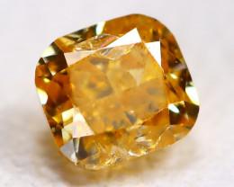 Orange Diamond 0.18Ct Natural Untreated Genuine Fancy Diamond CCC 2318