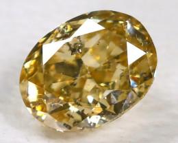 Diamond 0.22Ct Natural Untreated Genuine Fancy Diamond CCC 2327