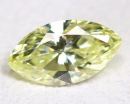 Yellow Diamond 0.17Ct Natural Untreated Genuine Fancy Diamond CCC 2329