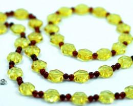 Beautiful Baltic Amber Necklace & Bracelet Set  code CCC2948