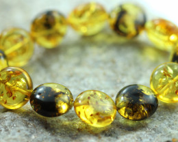 Beautiful Baltic Amber Bracelet  code CCC2959