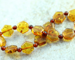 Beautiful Baltic Amber Bracelet  code CCC2981